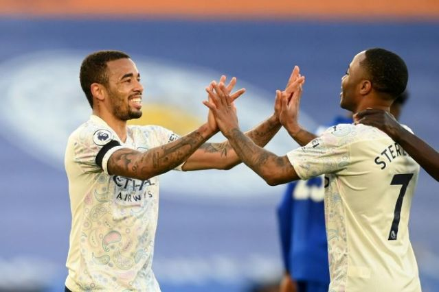 Man City beat Leicester to take 'big step' towards Premier League title