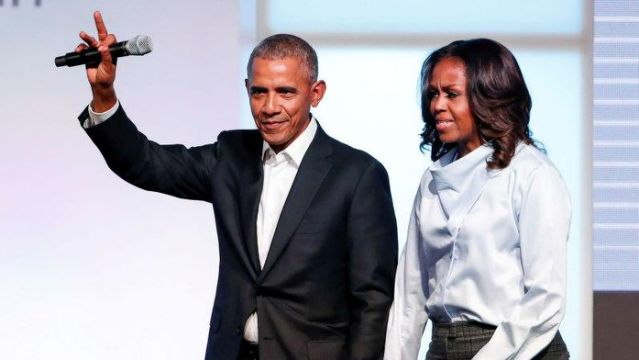 Latino activists protest renaming Illinois school after Barack and Michelle Obama
