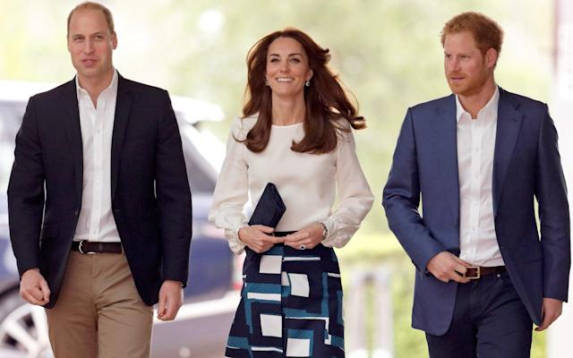 Kate could act as peacemaker between William and Harry on day of Prince Philip's funeral