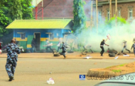 Democracy Day: Police shoot teargas to disperse protesters in Abuja, Lagos
