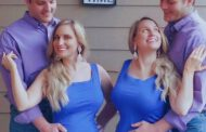 Twin sisters married twin brothers. Now they all live together - and breastfeed each other's babies