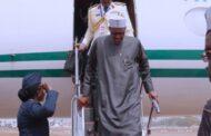 Buhari back in Abuja after London trip