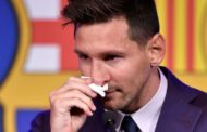 Messi's used tissue from emotional press conference up for $1m auction