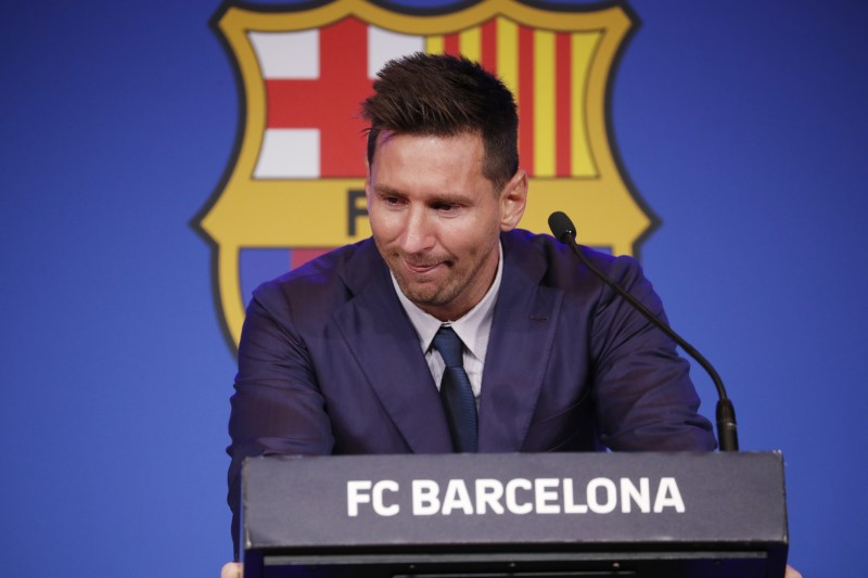 Laporta: I hoped Messi would offer to play for free