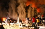 Ten dead in fire at Covid hospital