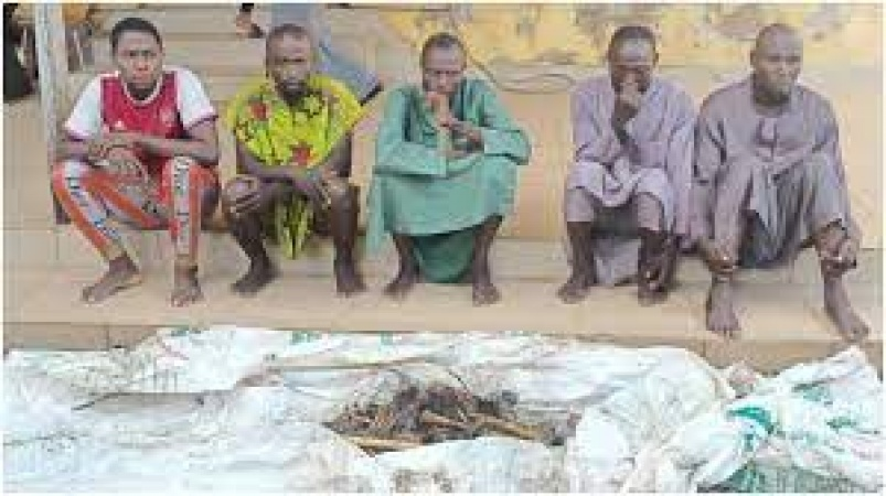 Five ritualists nabbed with murdered victim