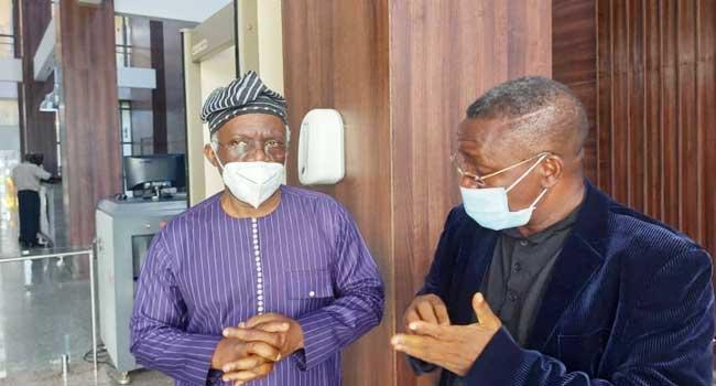 Olawunmi honours DIA's invitation accompanied by Falana